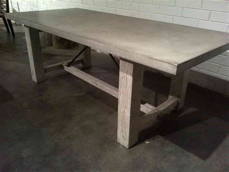 how to make a round concrete table top furniture how to make polished concrete table top