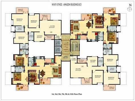 floor plan nyati ethos nyati county nibm road