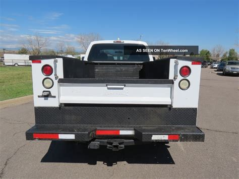 f250 truck bed 2008 ford f 250 supercab xl v10 4x4 utility work service