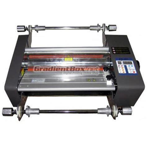 Mesin Laminasi Panas mesin laminating roll untuk laminasi dingin dan panas a3