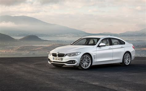 2014 bmw 4 series gran coupe white static 2