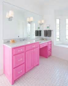 Wallpapered Bathrooms Ideas think pink 5 girly bathroom ideas best friends for frosting