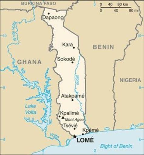 map of togo in africa enter togo november 6 2010