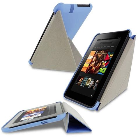 Kindle Hd Origami - roocase origami slimshell for kindle hd 7 quot blue