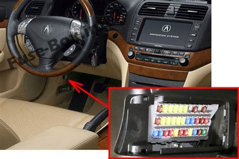 acura tsx fuse box easy wiring diagrams