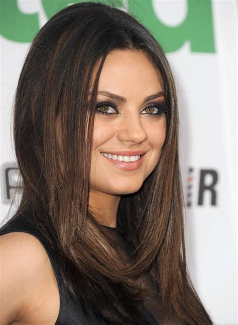 short layered hairstyles with middle parts middle part layered hairstyles blackhairstylecuts com