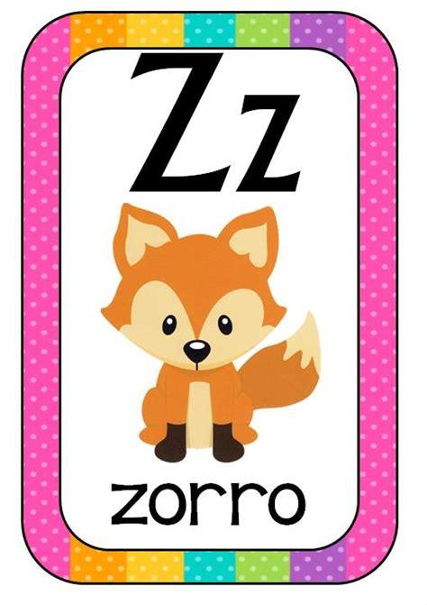 imagenes educativas abecedario abecedario animales formato tarjetas 14 imagenes