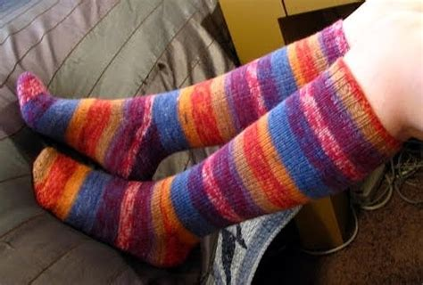 basic sock pattern using magic loop liat knits beginner socks magic loop variation