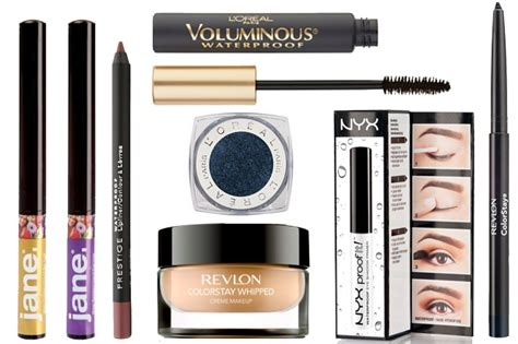 10 Drugstore Make Up Picks That Wont The Bank by 8 Waterproof Drugstore Makeup Finds That Won T Budge