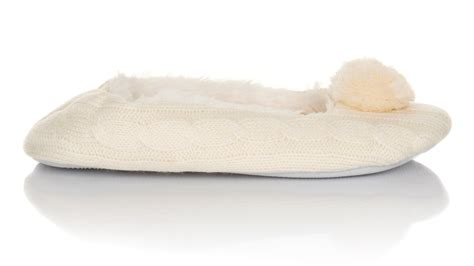 sherpa slippers womens pom pom sherpa fur lined slippers ballet pumps