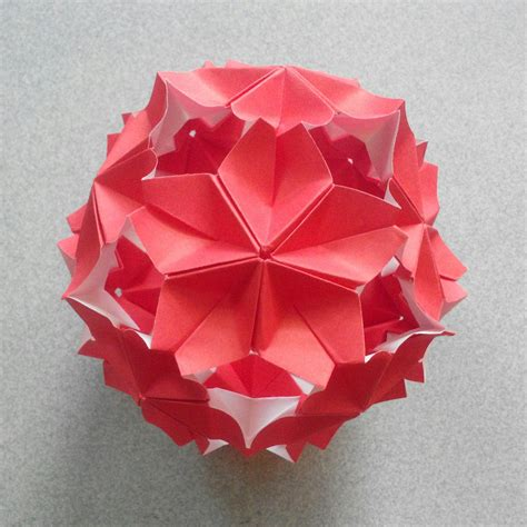 Modular Origami Kusudama - the world s newest photos of diagram and kusudama flickr
