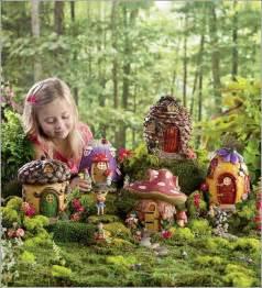 Backyard Pond Supplies Enchanted Miniature Fairy Gardens With Houses Where