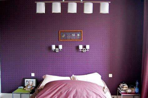 chambre gris et violet style d 233 coration chambre gris et violet