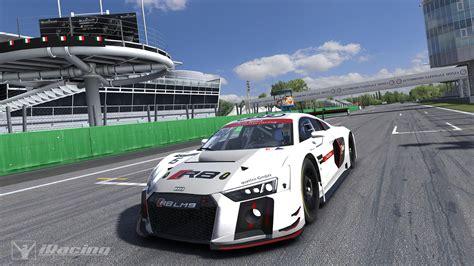 audi r8 inside iracing audi r8 lms gt3 look inside sim racing