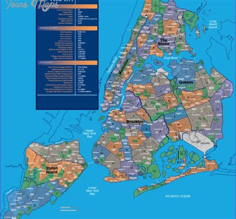 map of neighborhoods 2 new york city map neighborhoods map travel