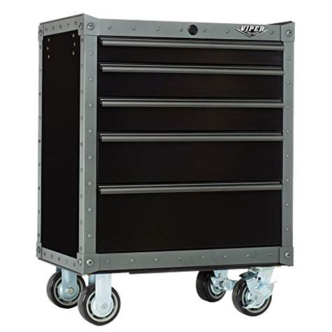 rolling storage cabinet with drawers viper tool storage armor series vv2605blt r 26 inch 5