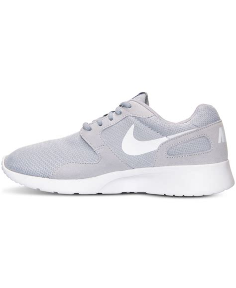 womens grey sneakers nike s kaishi casual sneakers from finish line in