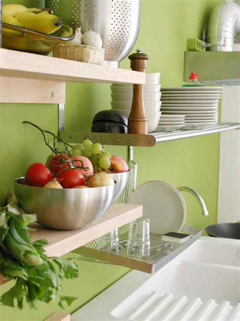 Kitchen Cabinet Paint Ideas Colors by Design Ideas For Kitchen Shelving And Racks Diy