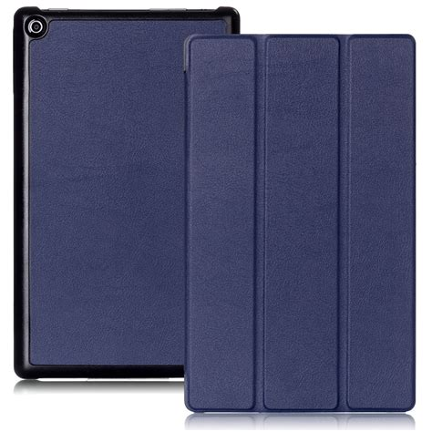 Flip Cover thin leather stand flip cover for kindle new hd 8 2016 6th ebay