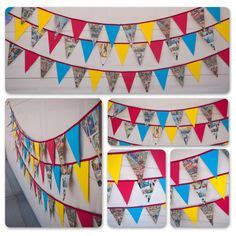 Bunting Flag Happy Birthday Banner Hbd Karakter Superman 1000 images about bunting on buntings and