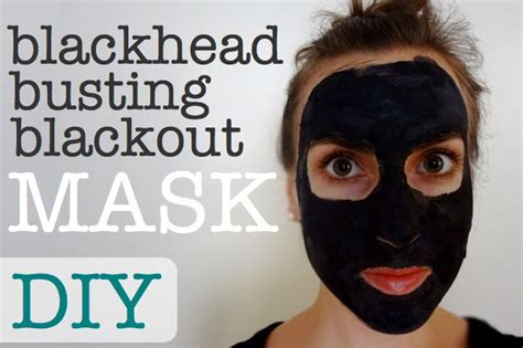 diy blackhead mask diy all blackhead busting blackout mask the two awesome and twists