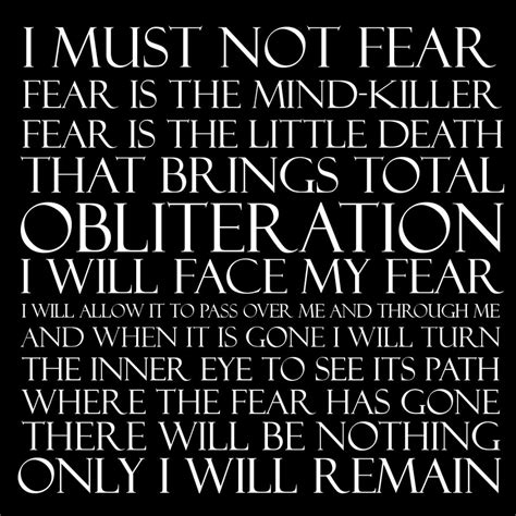 bene gesserit litany against fear frank herbert s dune dune litany against fear by grigori77 on deviantart