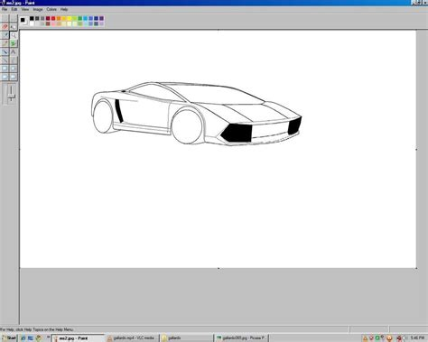 lamborghini in ms paint by ashish89 on deviantart