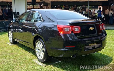 road ban new year 2014 malaysia chevrolet malibu launched in malaysia 2 4l rm155k