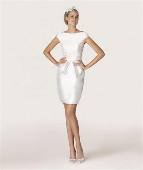 Robe Blanche Simple Pour Mariage - robe pour mariage civil photos de robes