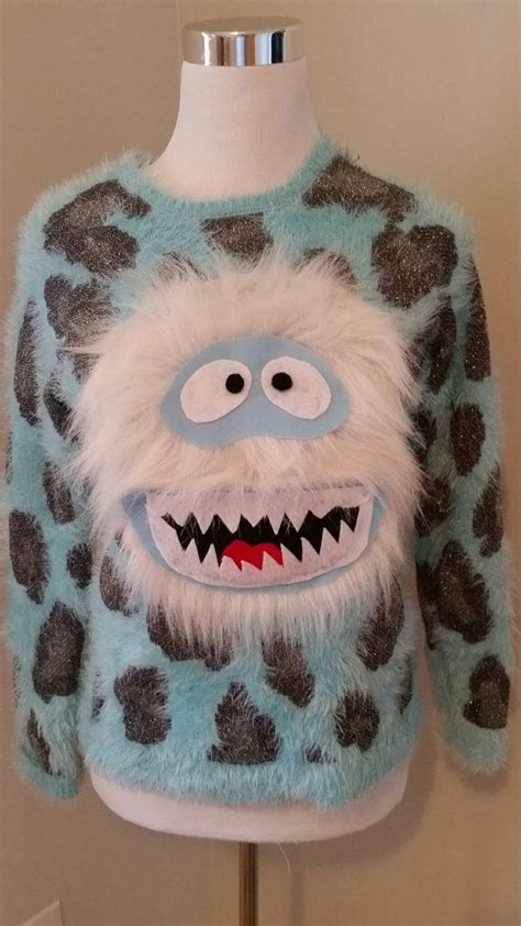 yeti sweater pattern 214 best tacky christmas sweater closet images on