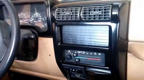 jeep tj custom dash gloss black on jeep tj dash bezel