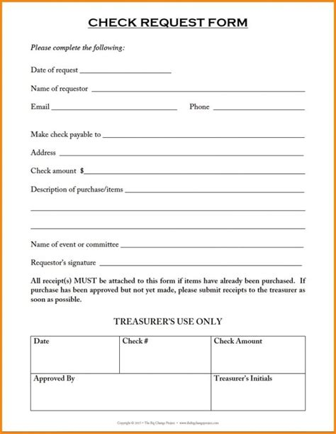 Check Request Form Template Runnerswebsite Check Request Template Microsoft