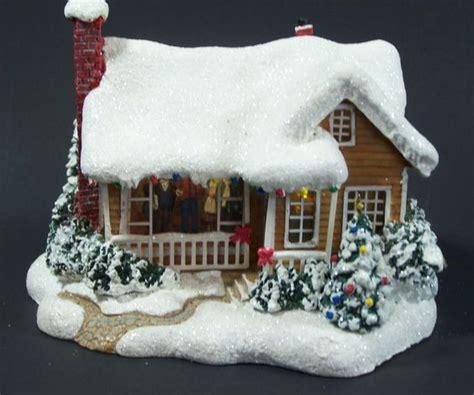 thomas kinkade christmas houses thomas kinkade childhood home lighted christmas house limited series teleflora