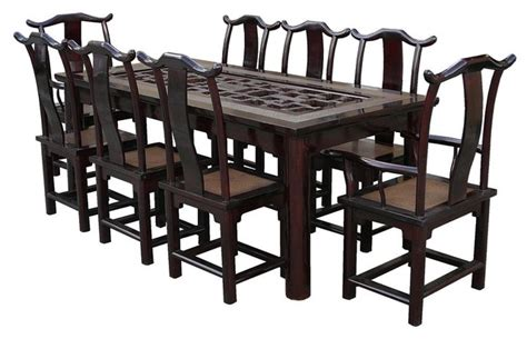 oriental dining room furniture oriental dining room set marceladick com
