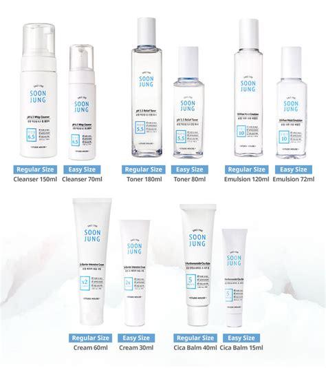 Jual Etude House Ac Clean Up Toner 5ml Pom etude house soonjung skin care line soon jung skincare
