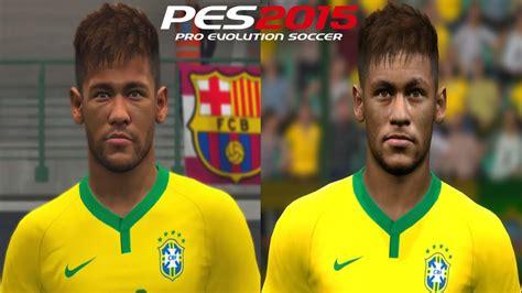 pes 2015 cristiano ronaldo face by editha pes patch pes 2015 ps4 xone vs pc face comparison c ronaldo neymar
