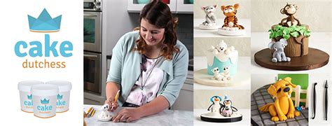 Cake Banner 20x22cm Chess cake dutchess modelling paste the cakey bakey