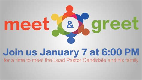 Search Meet Search Committee Update Lead Pastor Candidate Meet And Greet Pineland Baptist Church