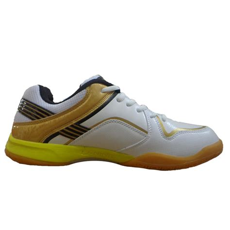 Lining Badminton Shoes I7 Wide lining play badminton shoes white and yellow buy lining play badminton shoes white and yellow