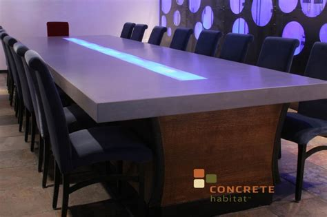Concrete Conference Table Bowl Made In Spokane Stays In Spokane