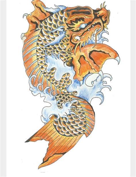 koi tattoo with names 25 best ideas about koi dragon tattoo on pinterest
