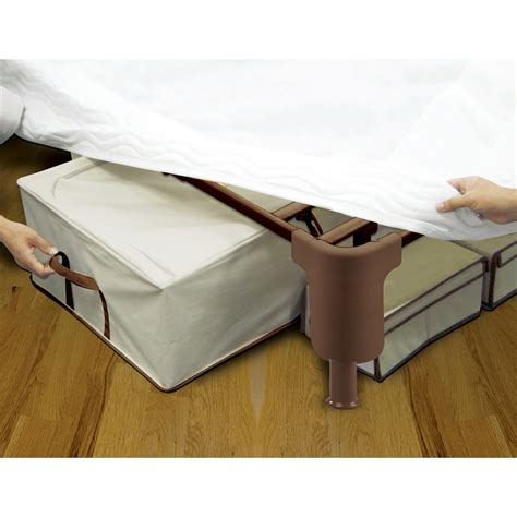 comfort revolutions 174 premium steel mattress foundation 183766 mattresses frames at
