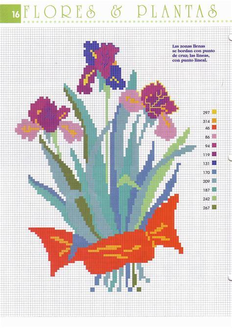 cuscini punto croce schemi cuscino punto croce con fiori viole 1 magiedifilo it