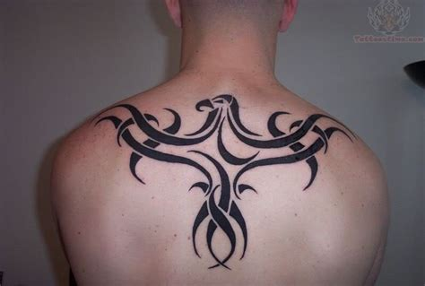 upper back tribal tattoos for men tribal on upperback