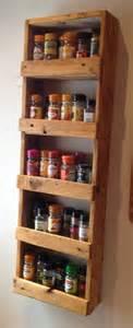 Spice Storage 25 Best Ideas About Pallet Spice Rack On