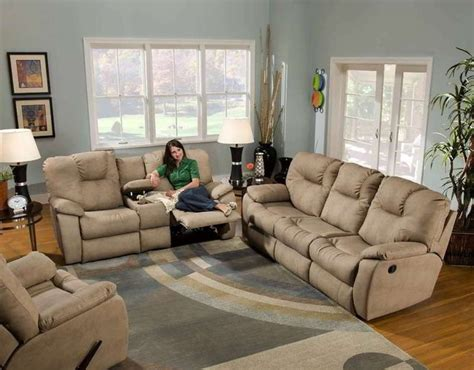 Sectional Sofa With Sleeper And Recliner by Recline Designs Camry Sleeper Sofa Loveseat