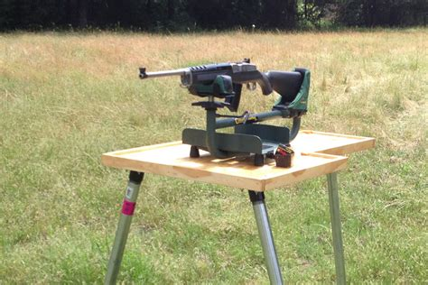 rifle shooting bench diy shooting bench for under 100 gunsamerica digest