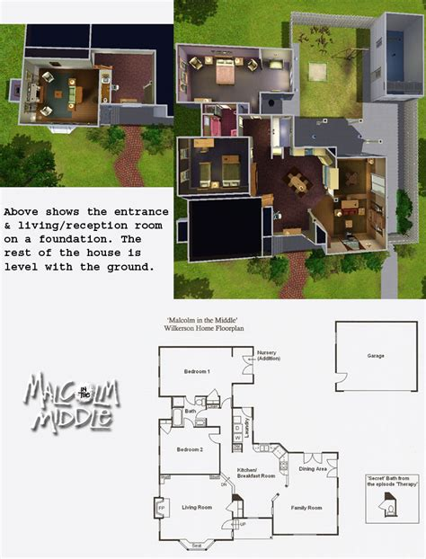 layout of the middle house the wilkerson house virtual 3d recreation by missroxor