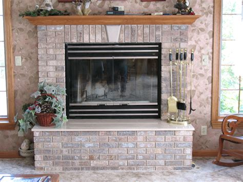Brick Fireplace by Brick Fireplace Hearth Www Imgkid The Image Kid