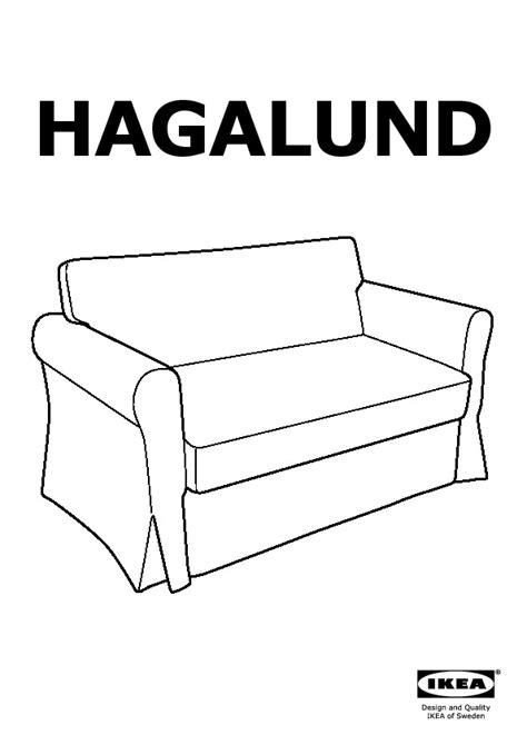 divano letto hagalund hagalund divano letto a 2 posti fruvik ikea italy